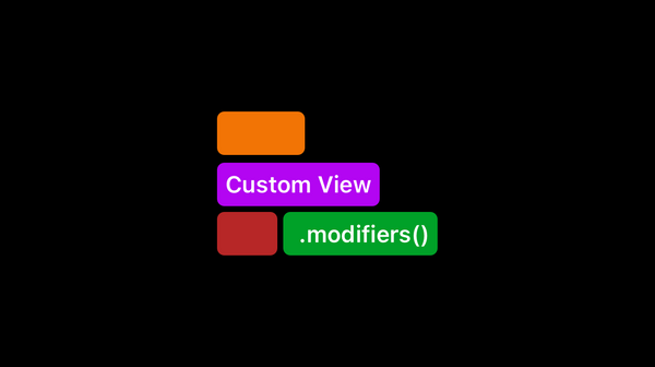 Custom View modifiers